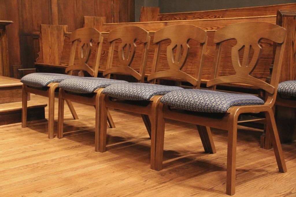 Church Choir Chairs OakLock PlyHarp PlyBent  Church