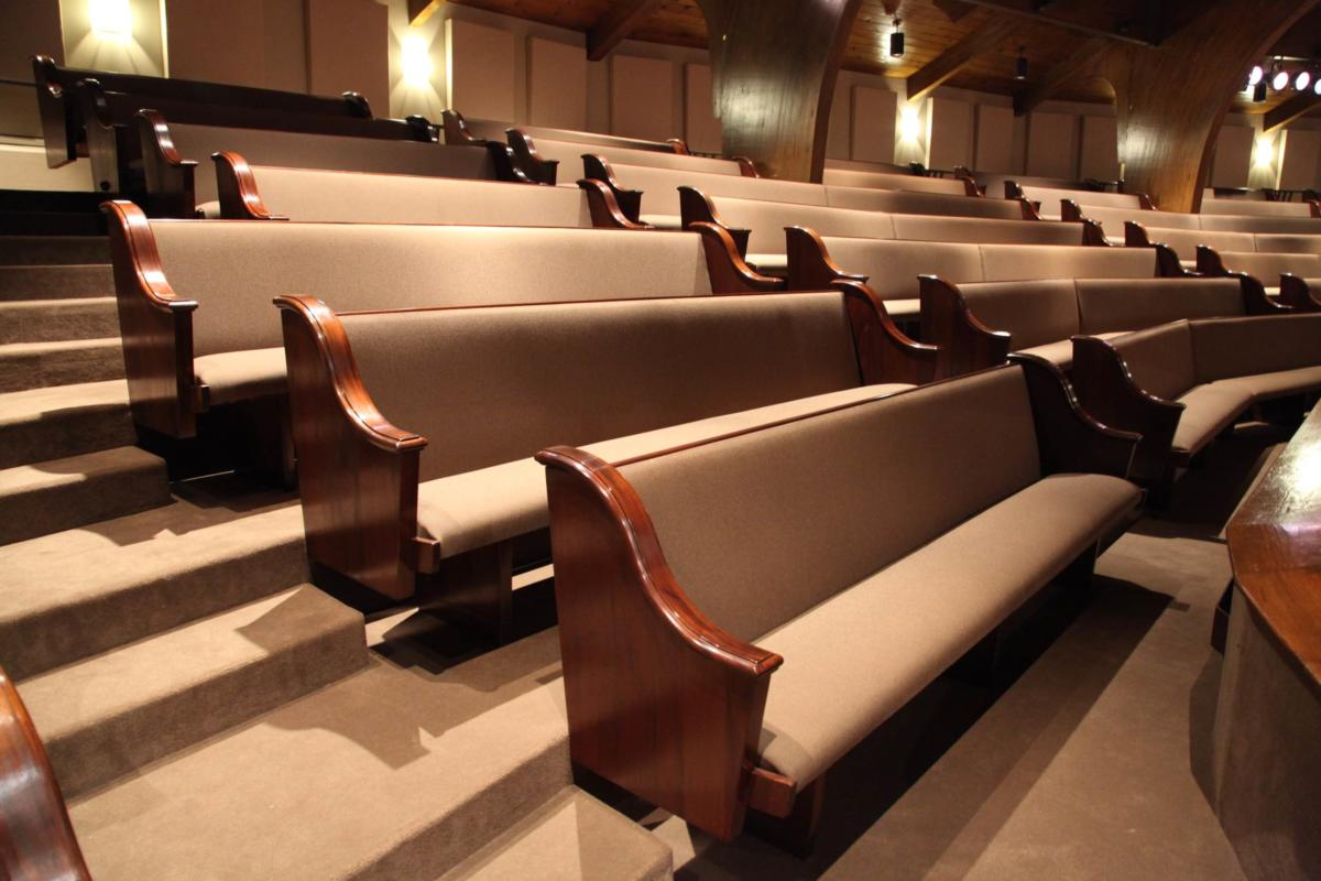 Pew Upholstery Cushions  Pads Upholstering Church Furniture