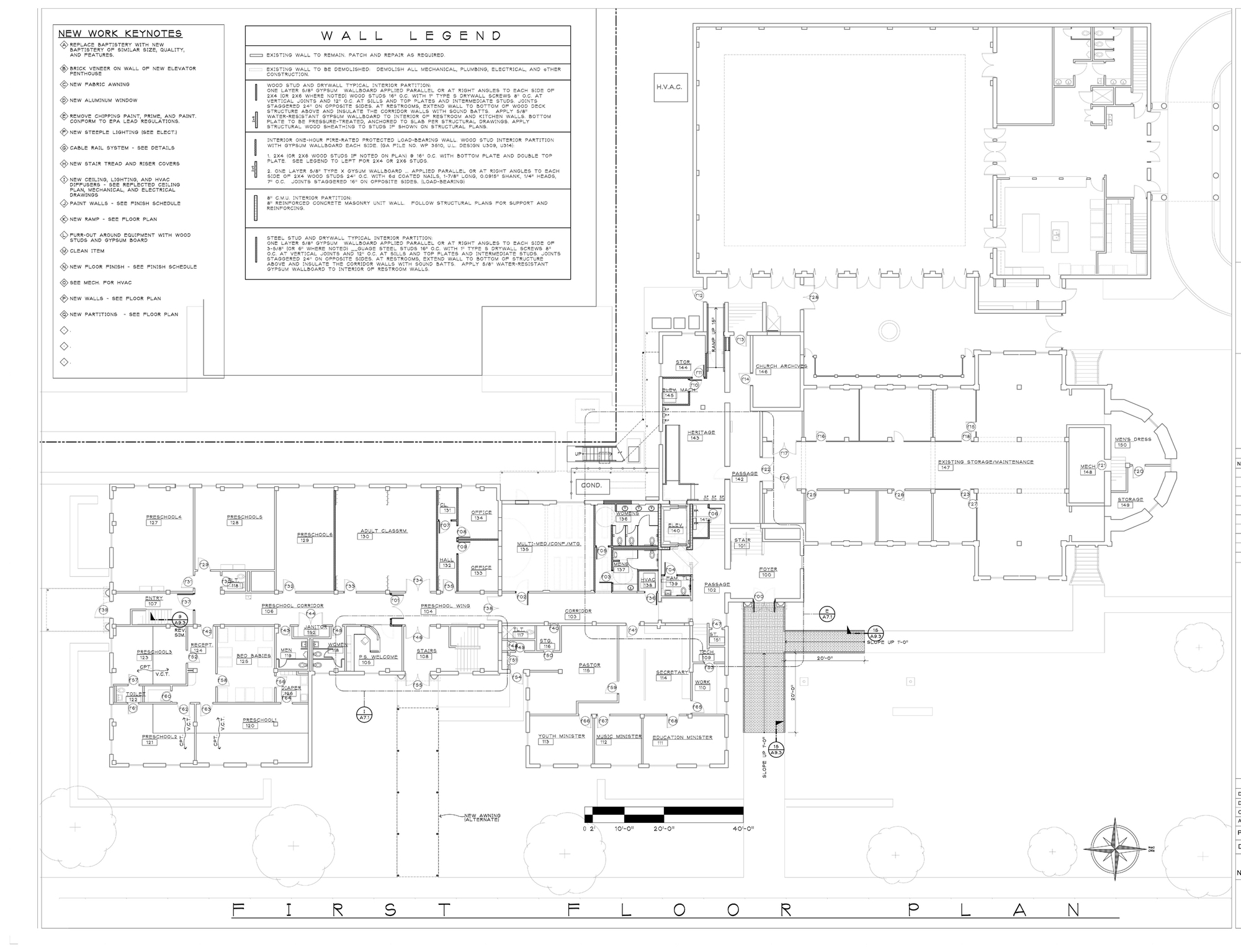 Master Planning Church Design-Build Contractor