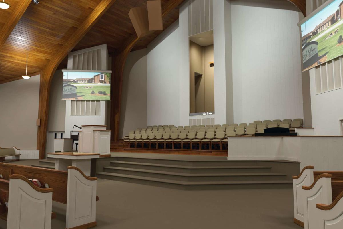 ContemporaryModern Renovations Church Sanctuary  Church Interiors
