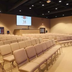 Modern Metal Chairs Bows For Chair Covers Church Chairs, Sanctuary & Classroom - Interiors, Inc.