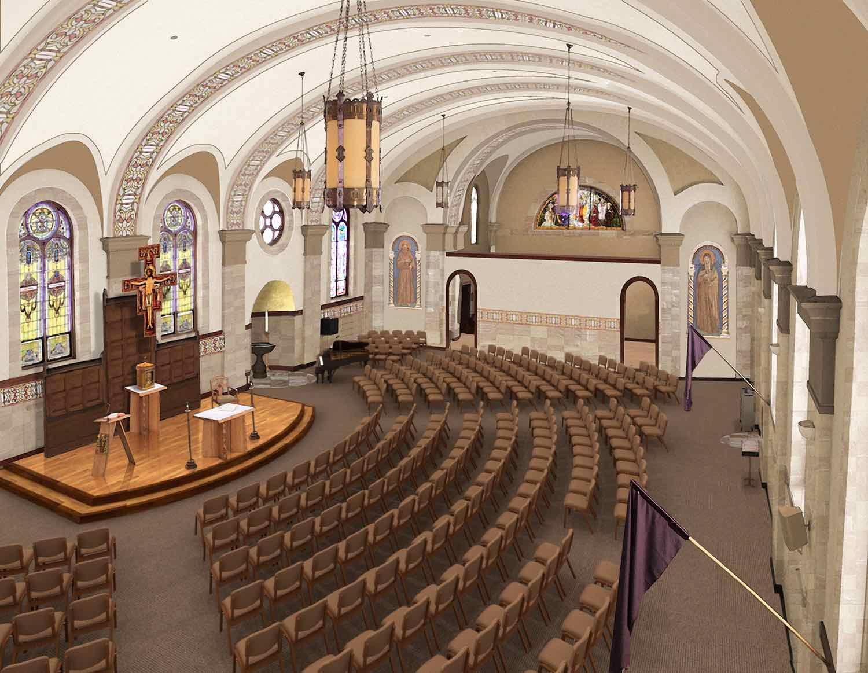 Church Chairs Sanctuary  Classroom Chairs  Church Interiors Inc