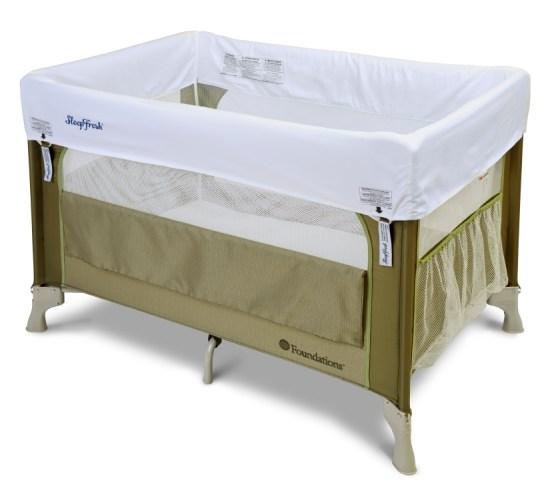 Sleepfresh Elite 1556117 Portable Crib Cilantro