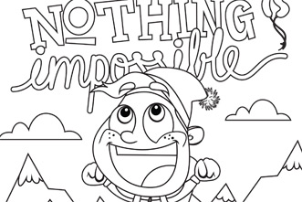 Free Coloring Pages: Shout Praises Kids Coloring Contest