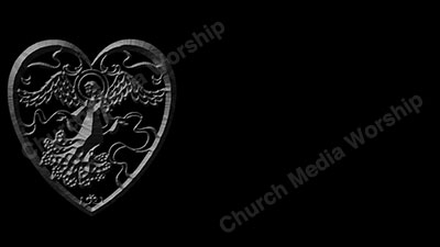 Angel of Love stone Christian Worship Background. High quality worship images for use to spread the Gospel and enhance the worship experience.