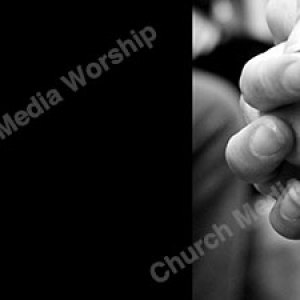 Black and White hands folded Christian Worship Background. High quality worship images for use to spread the Gospel and enhance the worship experience.