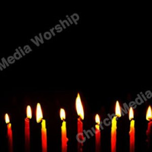 Candlelight to black Christian Worship Background. High quality worship images for use to spread the Gospel and enhance the worship experience.