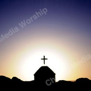 Church silhouette Christian Worship Background High quality worship images for use to spread the Gospel and enhance the worship experience.