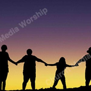 Family in worship Christian Worship Background. High quality worship images for use to spread the Gospel and enhance the worship experience.