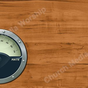 Gauge Master Love Hate Left Christian Worship Background. High quality worship images for use to spread the Gospel and enhance the worship experience.