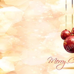 Golden Christmas Bulbs with Text Christian Worship Background. High quality worship images for use to spread the Gospel and enhance the worship experience.