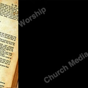 Scripture 2nd and 3rd John Black Christian Worship Background. High quality worship images for use to spread the Gospel and enhance the worship experience.