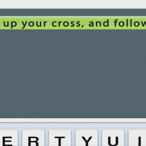 Text Message from God Take up Your Cross Christian Animated Still A professional animated intro that's stops on a still image without continuous movements.