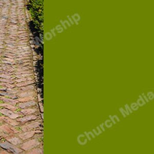 The Rocky Path Green Christian Worship Background. High quality worship images for use to spread the Gospel and enhance the worship experience.