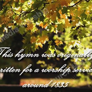 Nearer My God To Thee Historical Christian Worship Video A professional video that goes well with Sermons