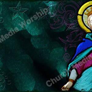 Woman Clothed with the Sun Christian Worship Background. High quality worship images for use to spread the Gospel and enhance the worship experience.