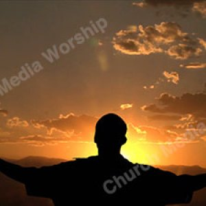 Worship into the heavens Christian Worship Background. High quality worship images for use to spread the Gospel and enhance the worship experience.