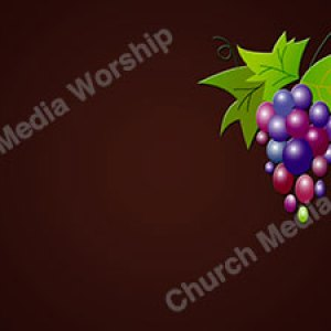 grapes Christian Worship Background. High quality worship images for use to spread the Gospel and enhance the worship experience.