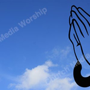 hand prayer silhouette Christian Worship Background. High quality worship images for use to spread the Gospel and enhance the worship experience.