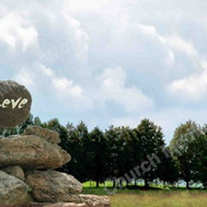 Hand w rock believe Christian Worship Background. High quality worship images for use to spread the Gospel and enhance the worship experience.