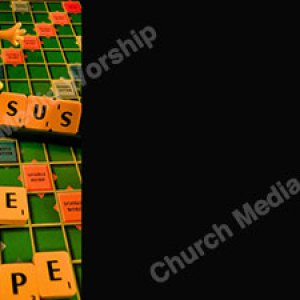 scrabble board black Christian Worship Background. High quality worship images for use to spread the Gospel and enhance the worship experience.