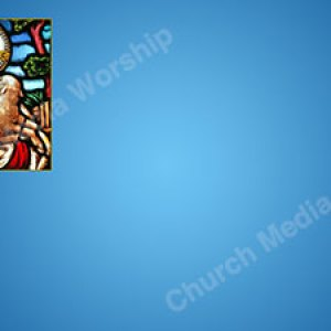 The good shepherd V4 blue Christian Worship Background. High quality worship images for use to spread the Gospel and enhance the worship experience.