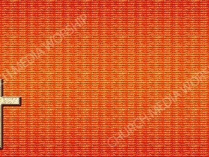 Bible Cross Symbol Orange Christian Background Images HD