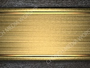 Gold metal plaque on wood background Christian Worship Background. High quality worship images for use to spread the Gospel and enhance the worship experience.