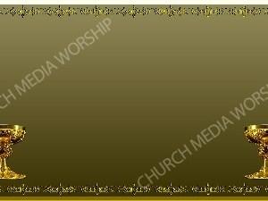 Golden Frame - Chalice - Gold Christian Background Images HD