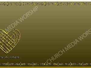 Golden Frame - Love More and More - Gold Christian Background Images HD