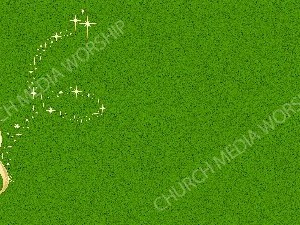 Golden Note - Green Christian Background Images HD