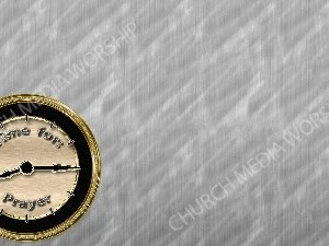Time For Prayer - Silver Christian Worship Background. High quality worship images for use to spread the Gospel and enhance the worship experience.