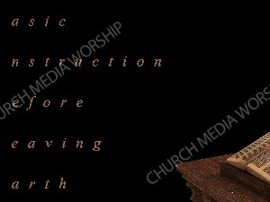 BIBLE acronym Christian Worship Image. High quality worship images for use to spread the Gospel and enhance the worship experience.