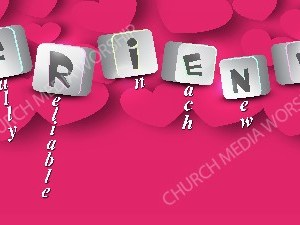 Friend Acronym Christian Worship Image. High quality worship images for use to spread the Gospel and enhance the worship experience.