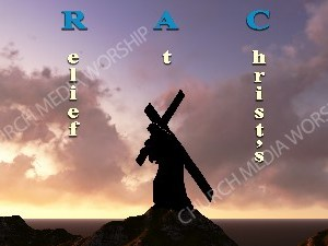 Grace Acronym Christian Worship Image. High quality worship images for use to spread the Gospel and enhance the worship experience.