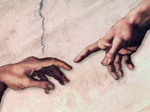 Hand of God V3 Christian Worship Image. High quality worship images for use to spread the Gospel and enhance the worship experience.