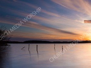 Jesus in Nature V1 Christian Worship Image. High quality worship images for use to spread the Gospel and enhance the worship experience.