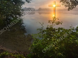 Jesus in Nature V27 Christian Worship Image. High quality worship images for use to spread the Gospel and enhance the worship experience.