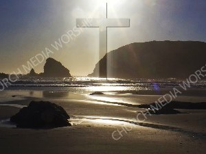 Jesus in Nature V49 Christian Worship Image. High quality worship images for use to spread the Gospel and enhance the worship experience.