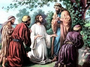 Jesus Teach prayer Christian Worship Image. High quality worship images for use to spread the Gospel and enhance the worship experience.