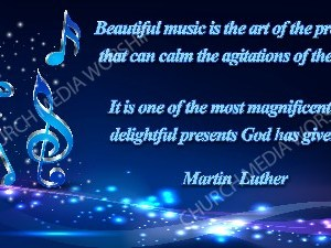 Martin Luther Quote V6 Christian Worship Image. High quality worship images for use to spread the Gospel and enhance the worship experience.