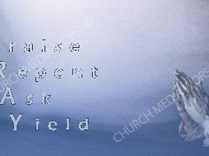 PRAY Acronym Christian Worship Image. High quality worship images for use to spread the Gospel and enhance the worship experience.