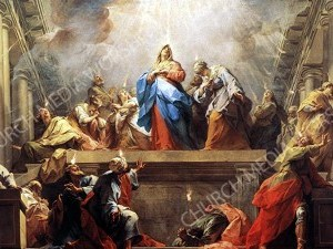 Pentecost Christian Worship Image. High quality worship images for use to spread the Gospel and enhance the worship experience.