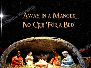 Away in a Manger Singalong Christian Video HD. With perfectly timed Lyrics. Easy to follow and sing Video and Audio to enhance the Worship experience.