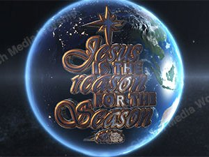 Jesus is the Reason over the earth Version 2 Christian Video Clip Use as a standalone or added as a clip to make a themed Christian video. Enhance the Worship experience.
