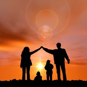 Family Worship as one Moving sun Christian Video Clip Use as a standalone or added as a clip to make a themed Christian video. Enhance the Worship.