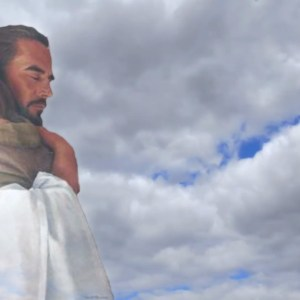Jesus Hugging a Child slower Christian Worship Loop Video Perfectly timed for no glitches in 1080P HD. Room for lyrics