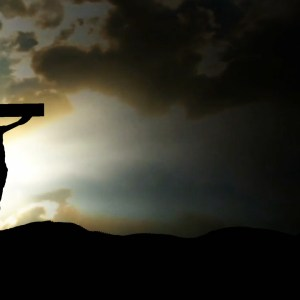 Jesus on Golgotha Dark Clouds Christian Worship Loop Video Perfectly timed for no glitches in 1080P HD. Room for lyrics