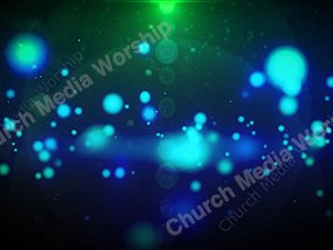 Green Blue Star Christian Worship Loop Video Perfectly timed for no glitches in 1080P HD. Room for lyrics