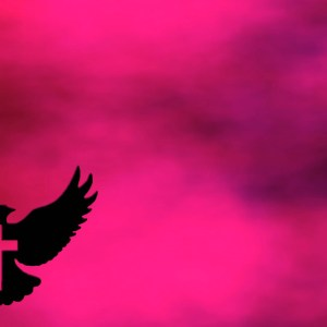 The Spirit with the Cross Red Clouds Christian Worship Loop Video Perfectly timed for no glitches in 1080P HD. Room for lyrics